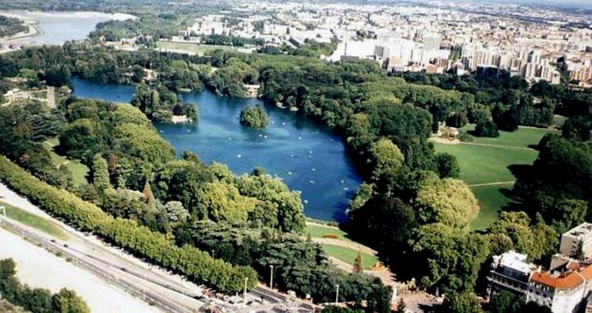 Tete D Or Park Lyon France