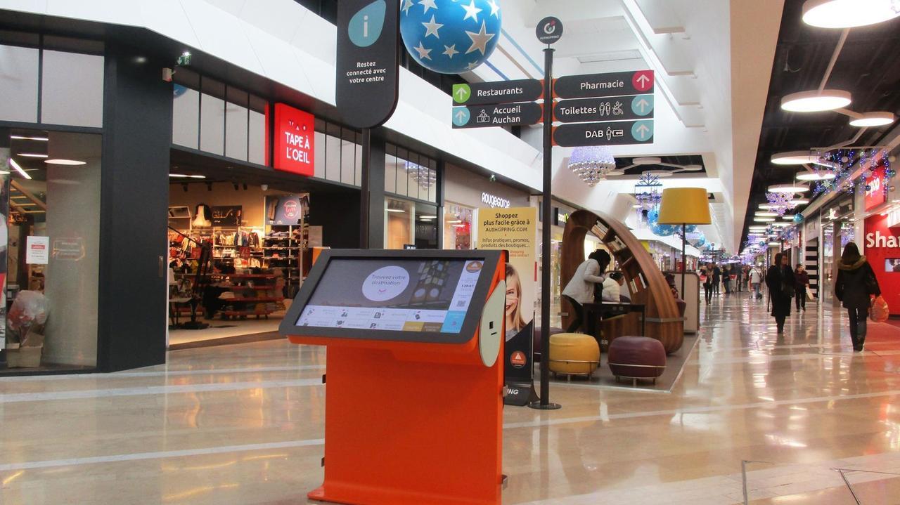 Aushopping porte des alpes lyon france - Auchan lyon porte des alpes ...