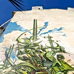 Fresque Monde végétal