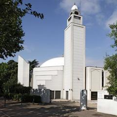 Grande mosquée de Lyon - Façade