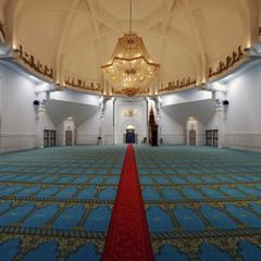 Grande mosquée de Lyon - Intérieur