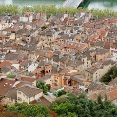 Vue sur les toits du Vieux-Lyon