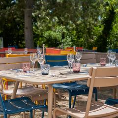 Parc du restaurant