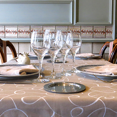 Salle du restaurant Le Vivarais