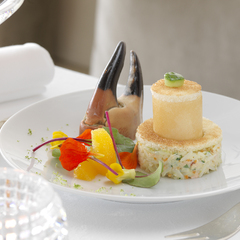 Saladine de tourteau