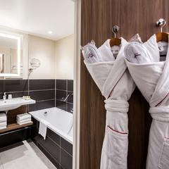 Salle de bains de nos chambres executives