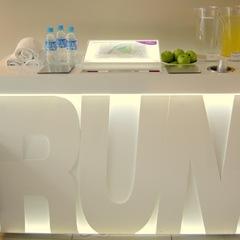 Running corner