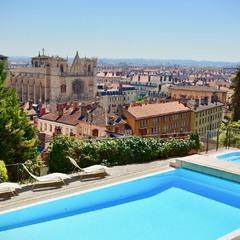 Piscine panoramique Villa Florentine