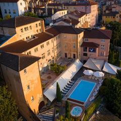 Vue aérienne Villa Florentine