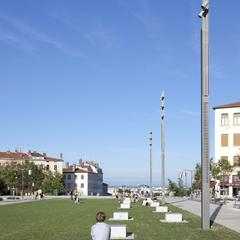 Esplanade du Gros Caillou à la Croix-Rousse