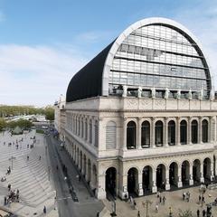 La Place Louis Pradel et l'Opéra de Lyon