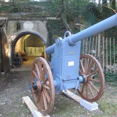Réplique échelle 1 artillerie