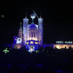 Colline de Fourvière pour le futur monde de Lyon