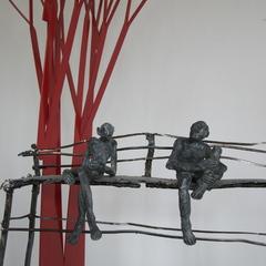 Bronze Isabelle De Johanto- sculpture Bernard Autin