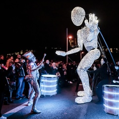 Spark! - Dundu - The Giants of Light - Quais de Saône - Fête des Lumières 2019
