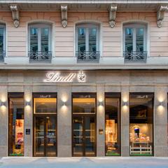 Boutique Lindt Chocolat Bar Lyon