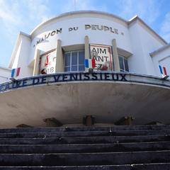 Façade du Théâtre de Vénissieux