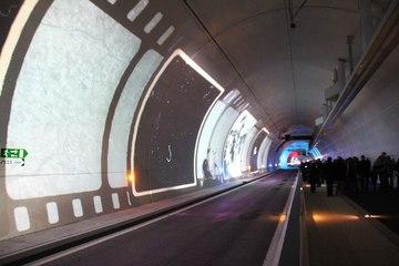 Tunnel de la Croix-Rousse - tube modes doux