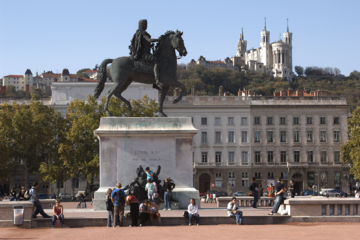 Place Bellecour - Statue de Louis XIV