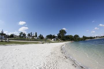 Plage de sable fin de L'atol'