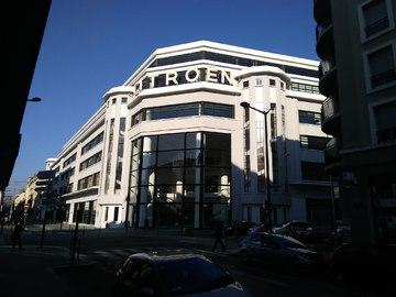 L'Immeuble Citroën à Lyon
