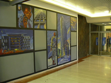 Fresque du Quartier de la Part-Dieu
