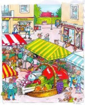 Montanay - affiche du marché