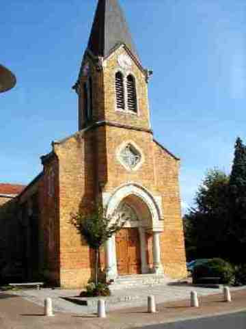 Fleurieu - église